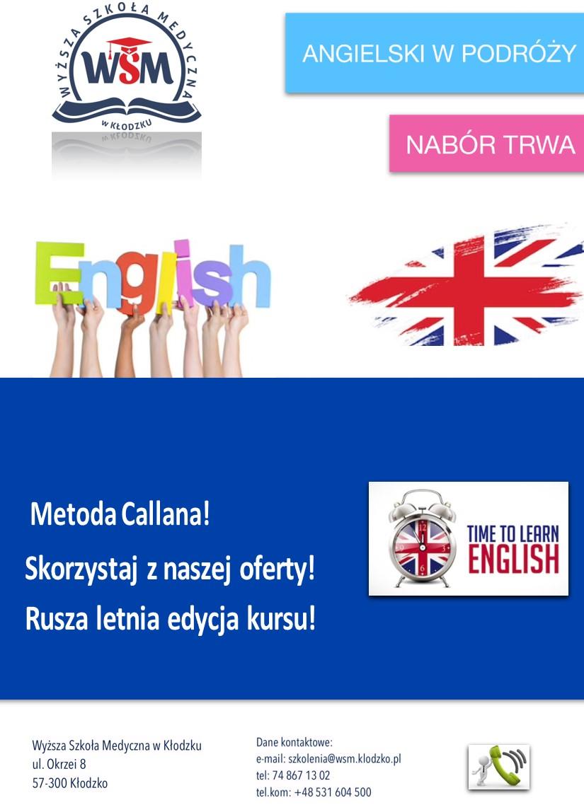 kurs – język angielski