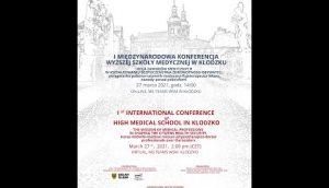 I Międzynarodowa Konferencja Wyższej Szkoły Medycznej w Kłodzku